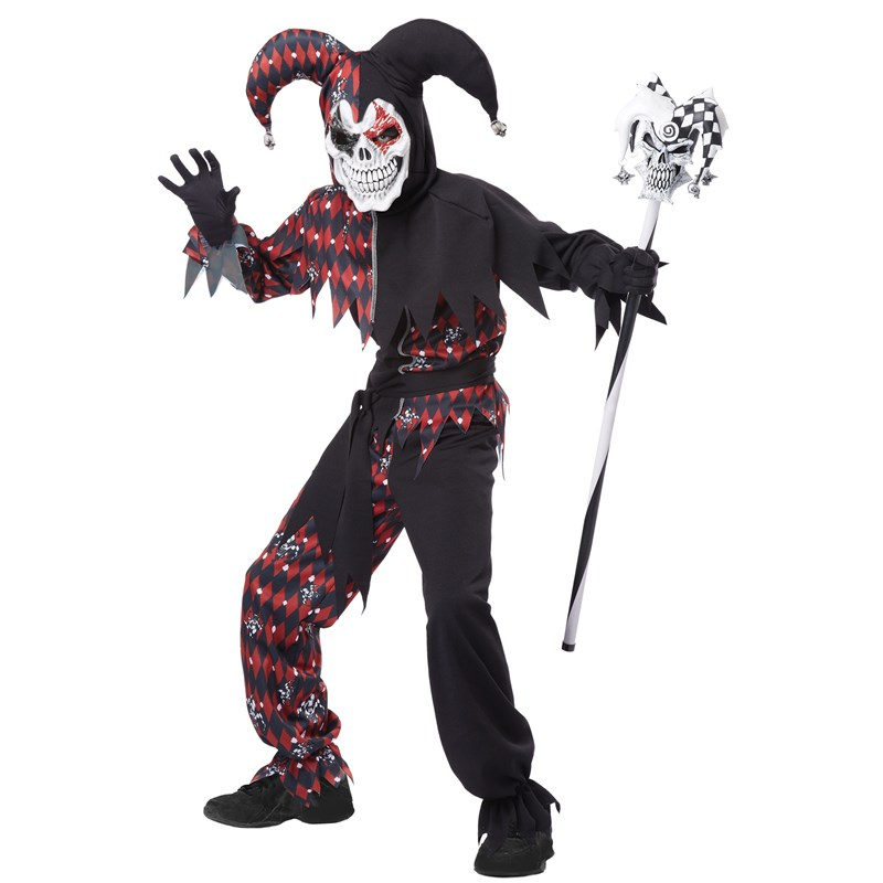 Sinister Jester Child Costume for the 2015 Costume season.