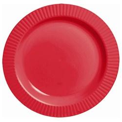 Red Premium Plastic Dessert Plates (32 count)