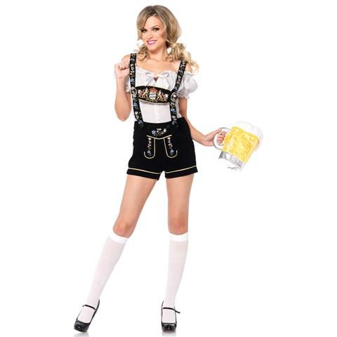 Edelweiss Lederhosen Beer Girl Costume