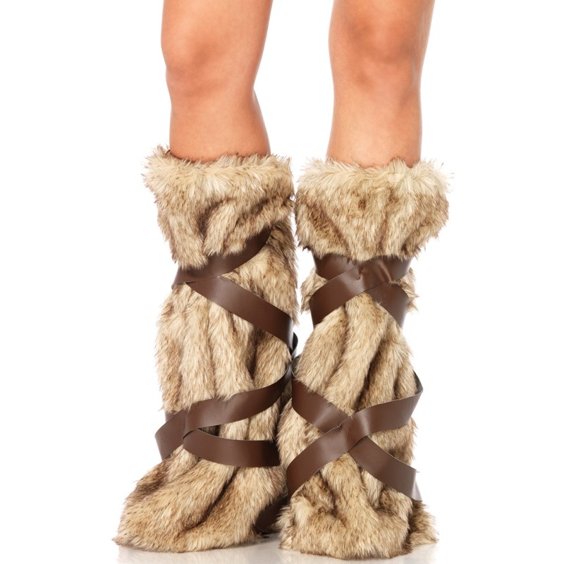 Medieval Warrior Fur Leg Warmers for the 2015 Costume season.