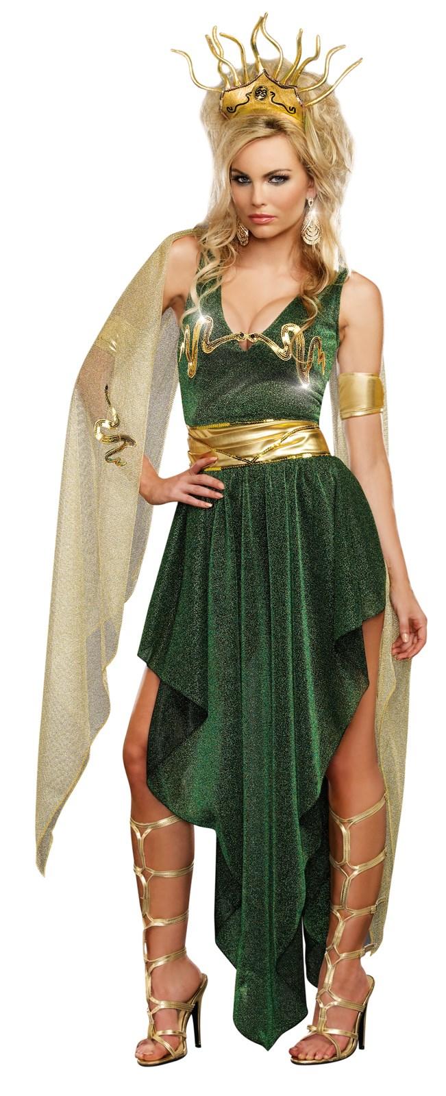 Sultry Medusa Costume