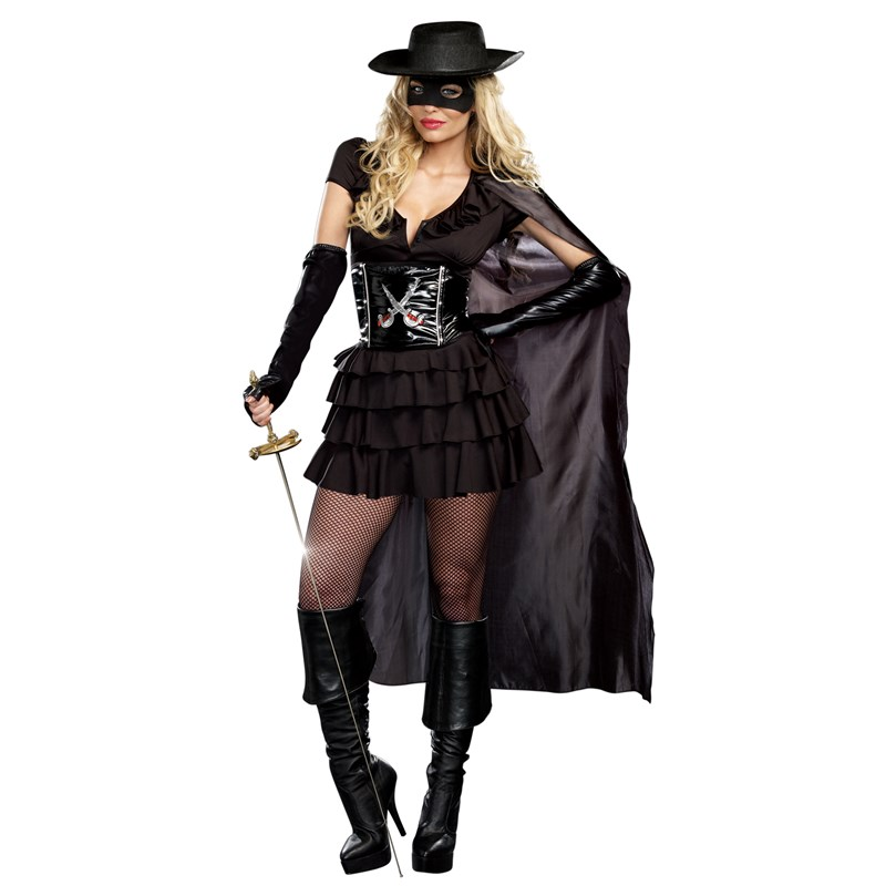 Double Edged Diva Zorro Dress for the 2015 Costume season.