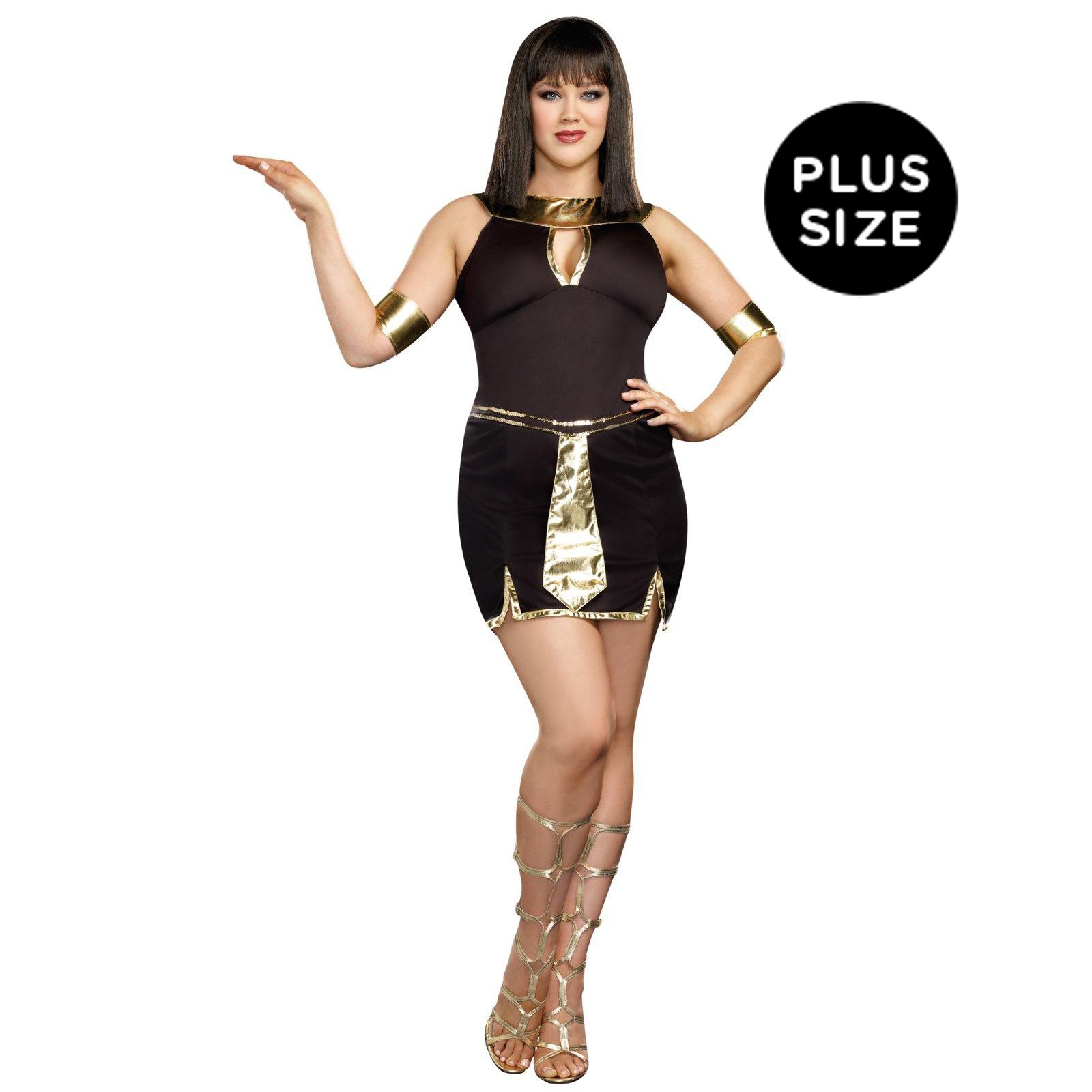 Walk Like An Egyptian Plus Size Dress