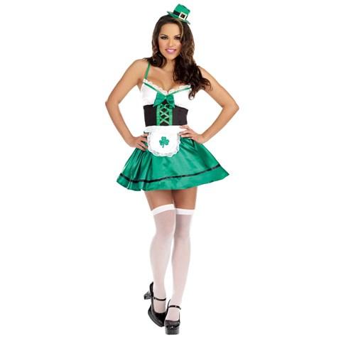 Lucky You! Sexy Leprechaun Outfit