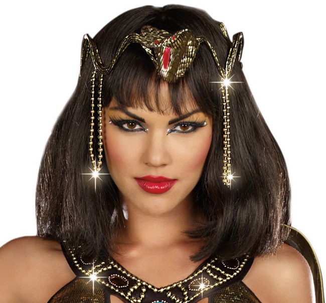 Gold Snake Crown for the 2015 Costume season.