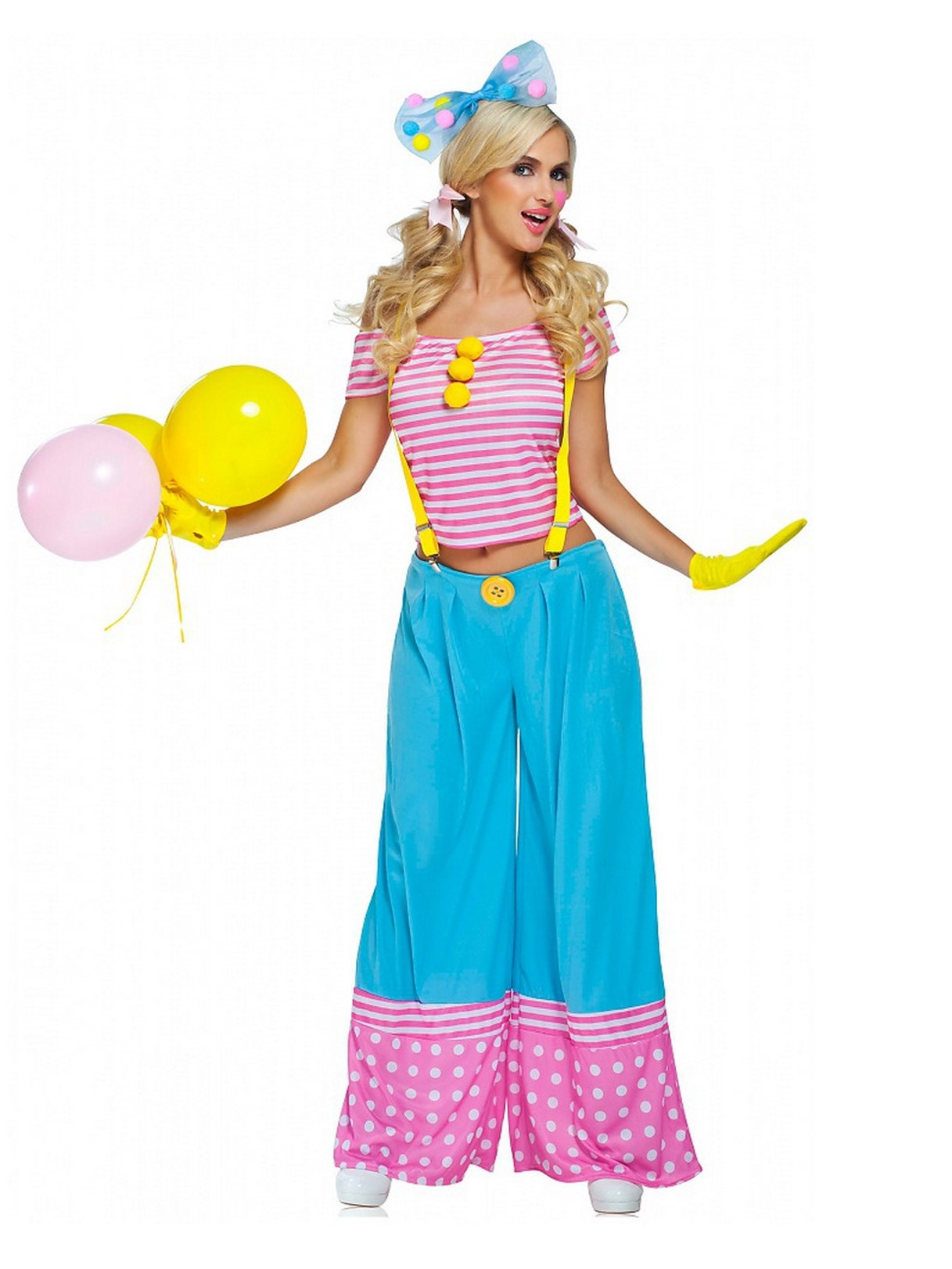 Floppie The Clown – Adult Costume