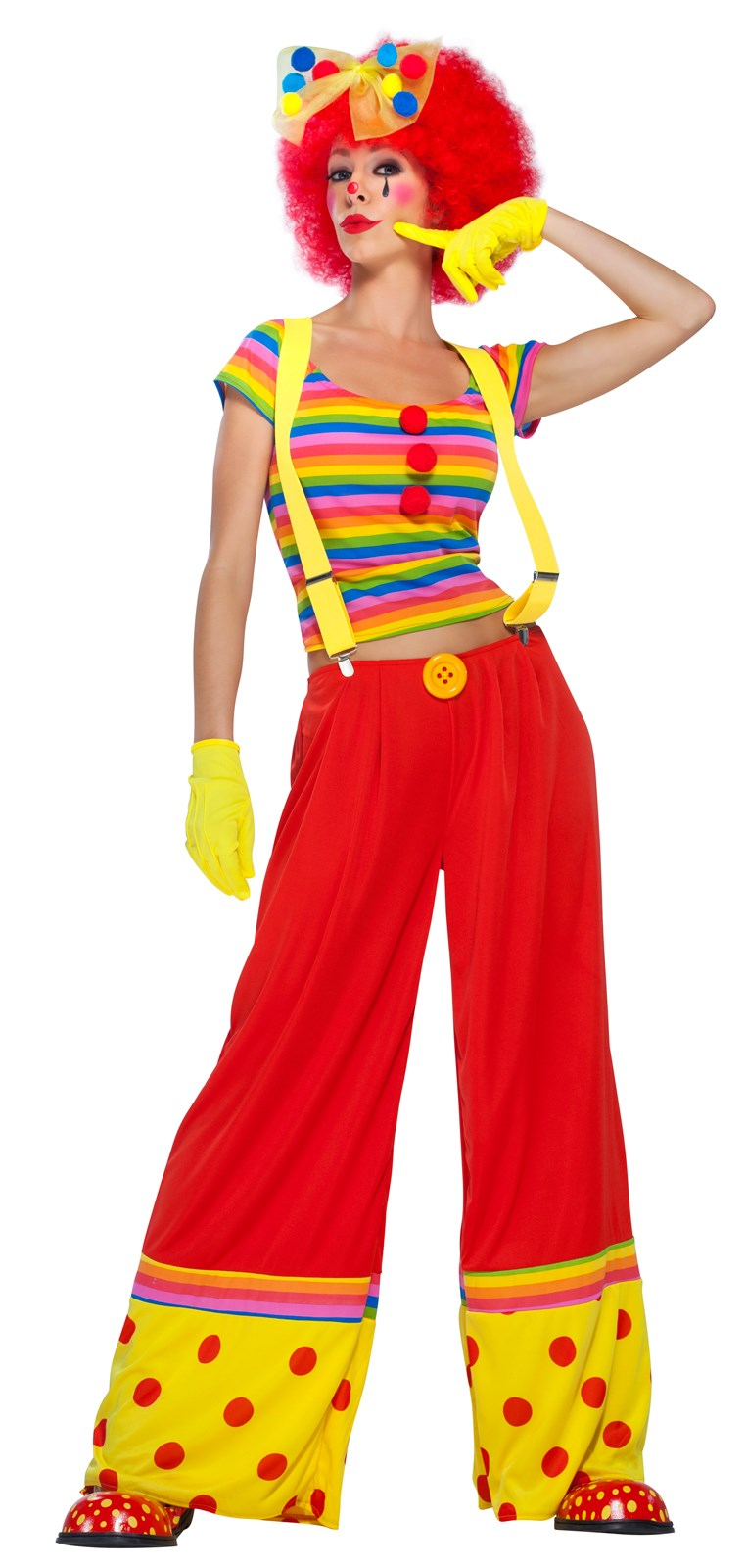 Moppie The Clown - Adult Costume