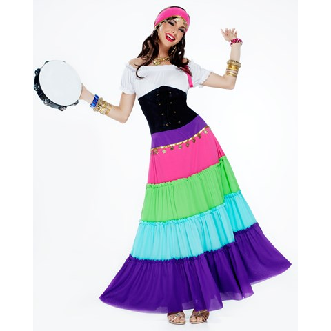 Renaissance Ladies Gypsy Costume
