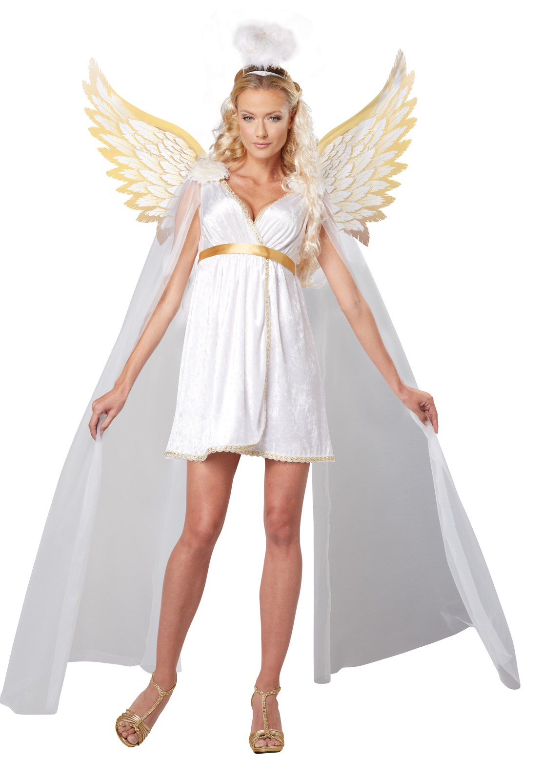 Heavenly Radiant Angel Womens Dress Costume