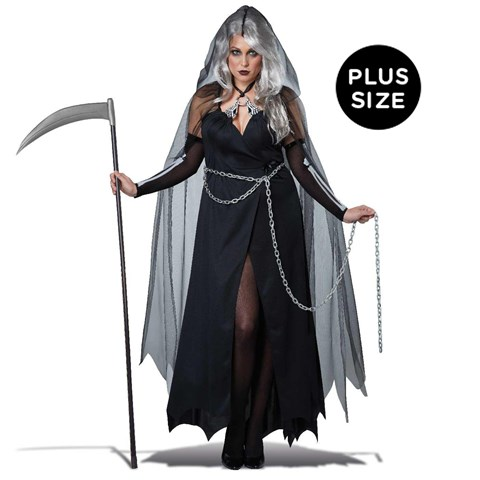 Lady Grim Reaper Plus Size Womens Costume