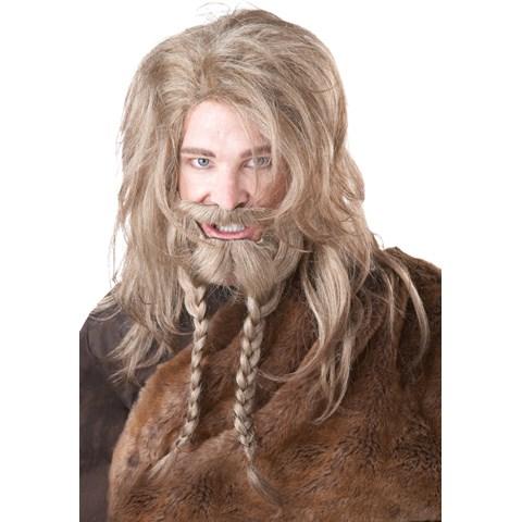 Mixed Blonde Viking Wig