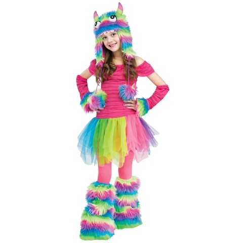 Rainbow Monster Child Costume
