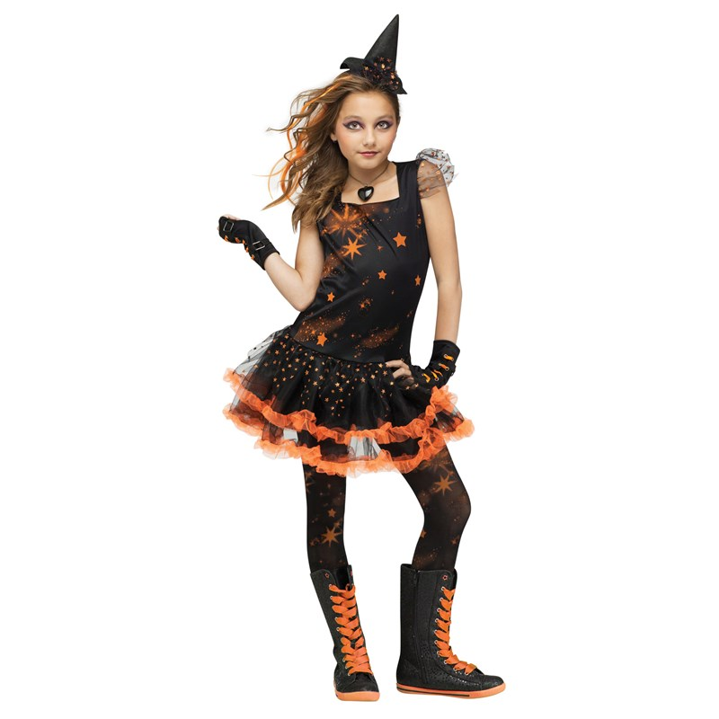 Sparkle Star Witch Child Costume for the 2015 Costume season.