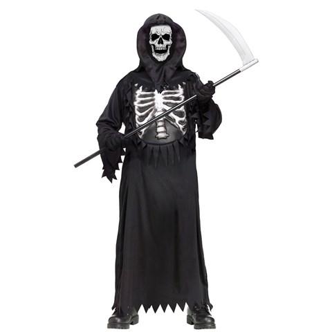 Glow Chest Reaper Child Costume