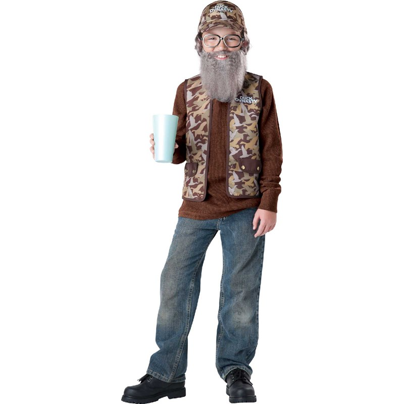 Duck Dynasty   Uncle Si Child Costume for the 2015 Costume season.