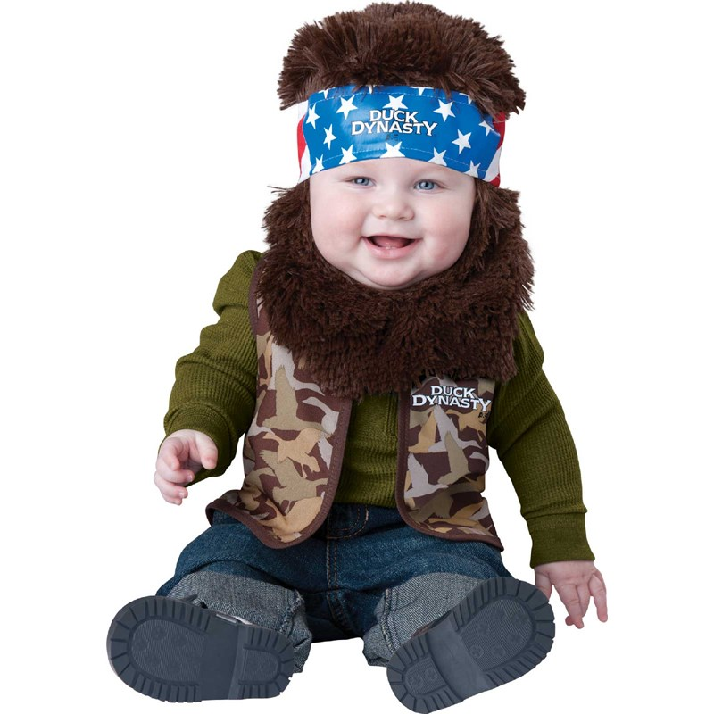 Duck Dynasty   Willie Infant and Toddler Costume for the 2015 Costume season.