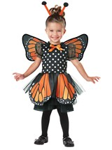 Click Here to buy Monarch Butterfly Baby/Toddler Costume from BuyCostumes