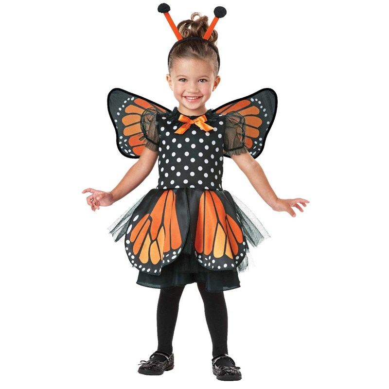 Monarch Butterfly Infant and Toddler Costume for the 2015 Costume season.