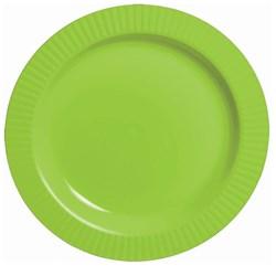 Kiwi Premium Plastic Banquet Dinner Plates (16 count)