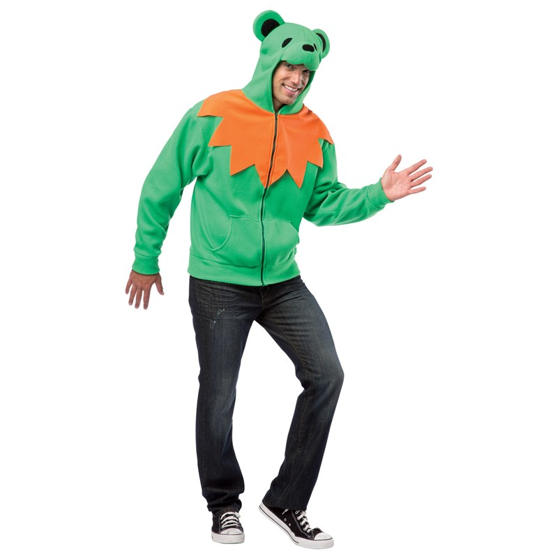 Grateful Dead Green Bear Costume for the 2015 Costume season.