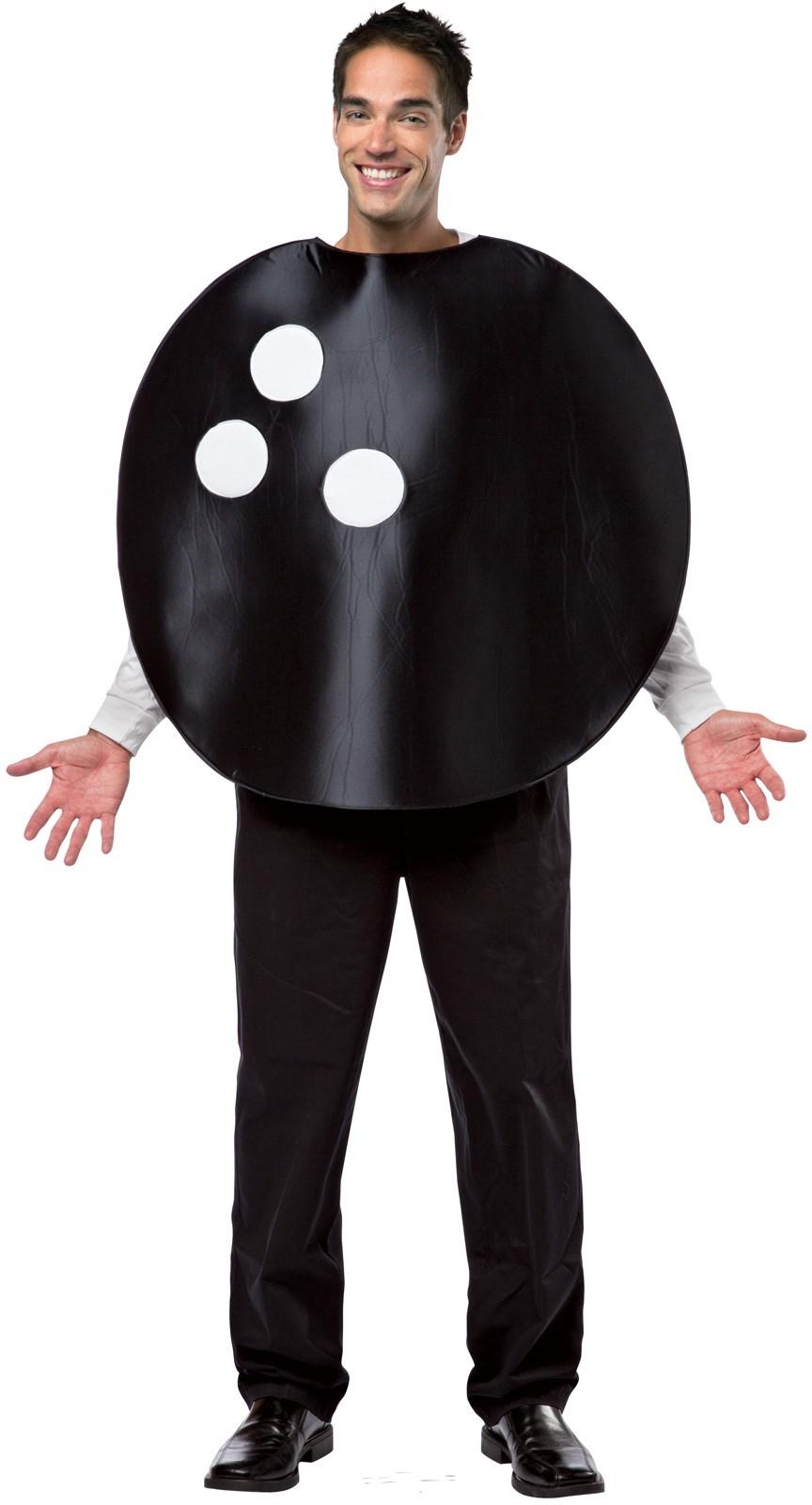 Bowling Ball Adult Tunic Costume