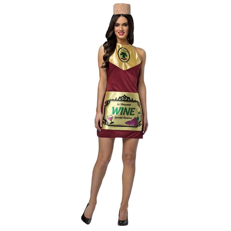 Wine Bottle Womens Dress Costume for the 2015 Costume season.
