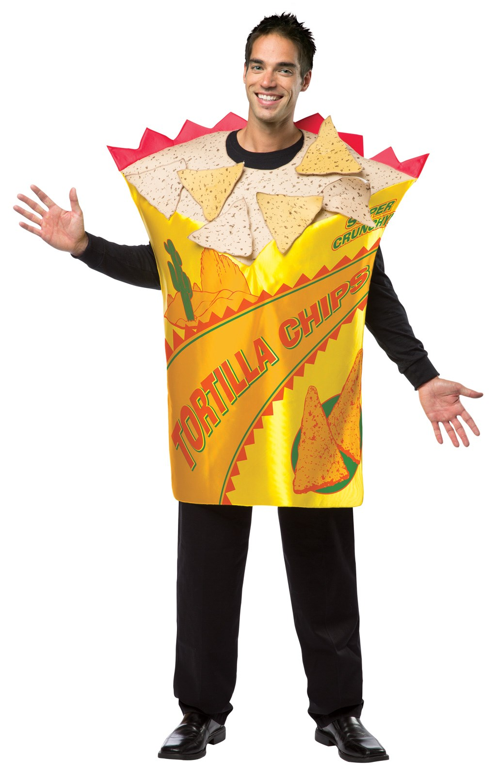 Tortilla Chips Adult Tunic Costume