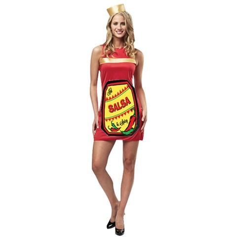 Salsa Dress Womens Costume