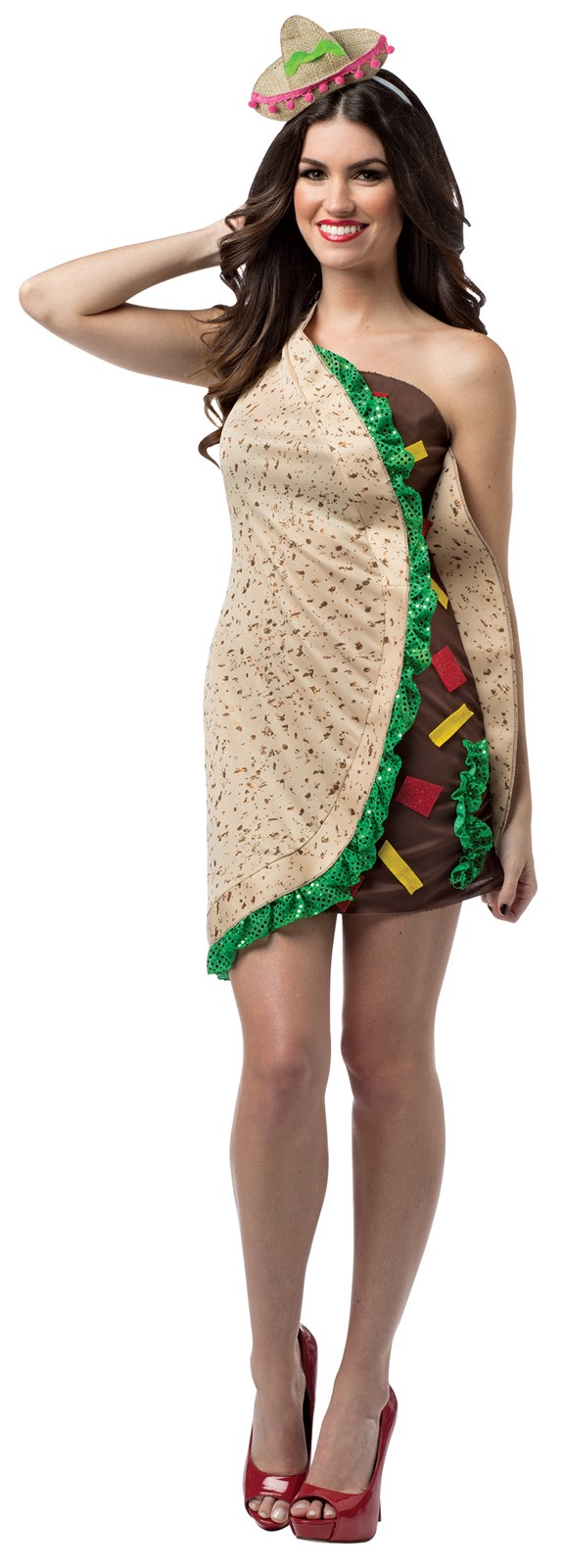 Spicy Womens Taco Dress Costume