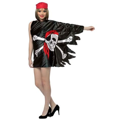 Pirate Flag Womens Dress Costume