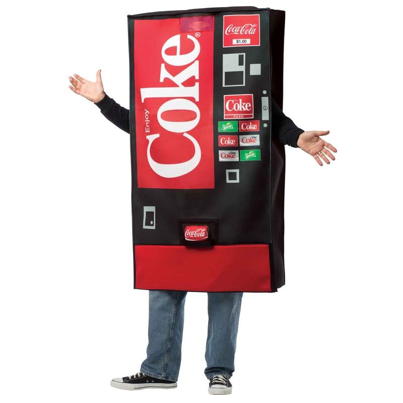 Coke Vending Machine Adult Costume for the 2015 Costume season.