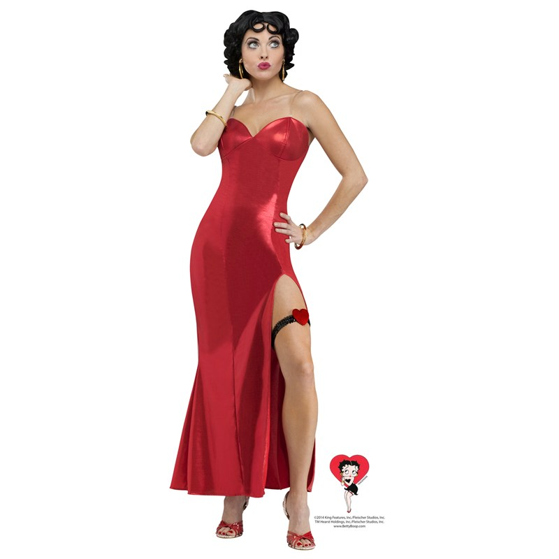 Betty Boop Womens Dress Costume for the 2015 Costume season.