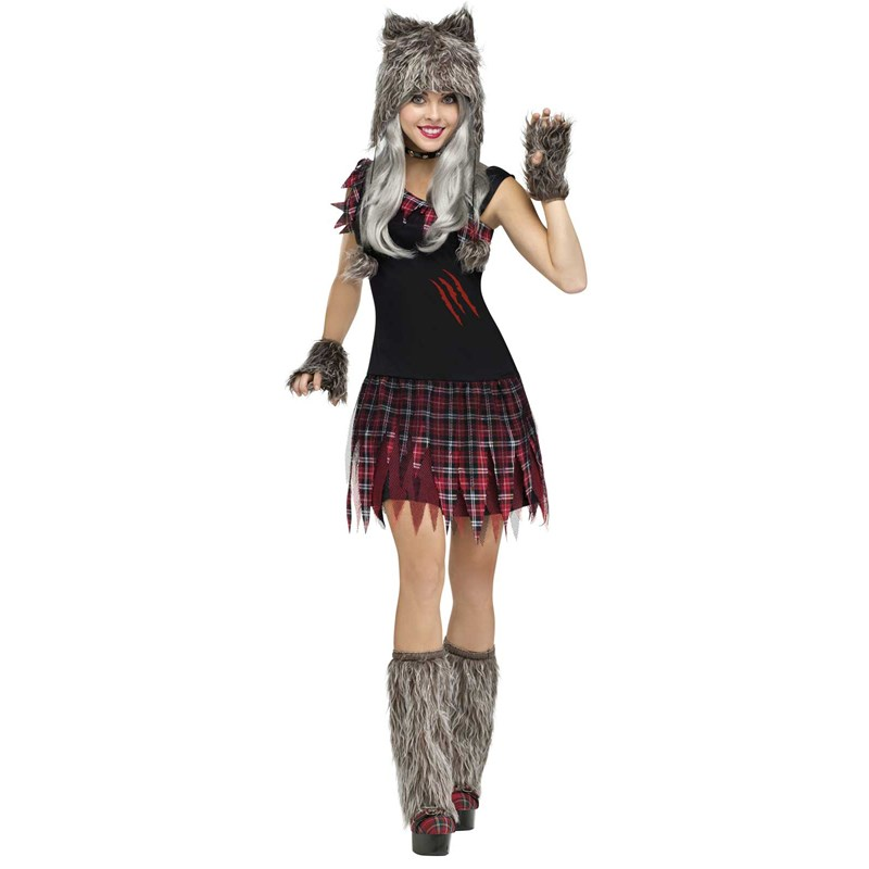 Wickd Wolfie Sexy Womens Werewolf Costume for the 2015 Costume season.