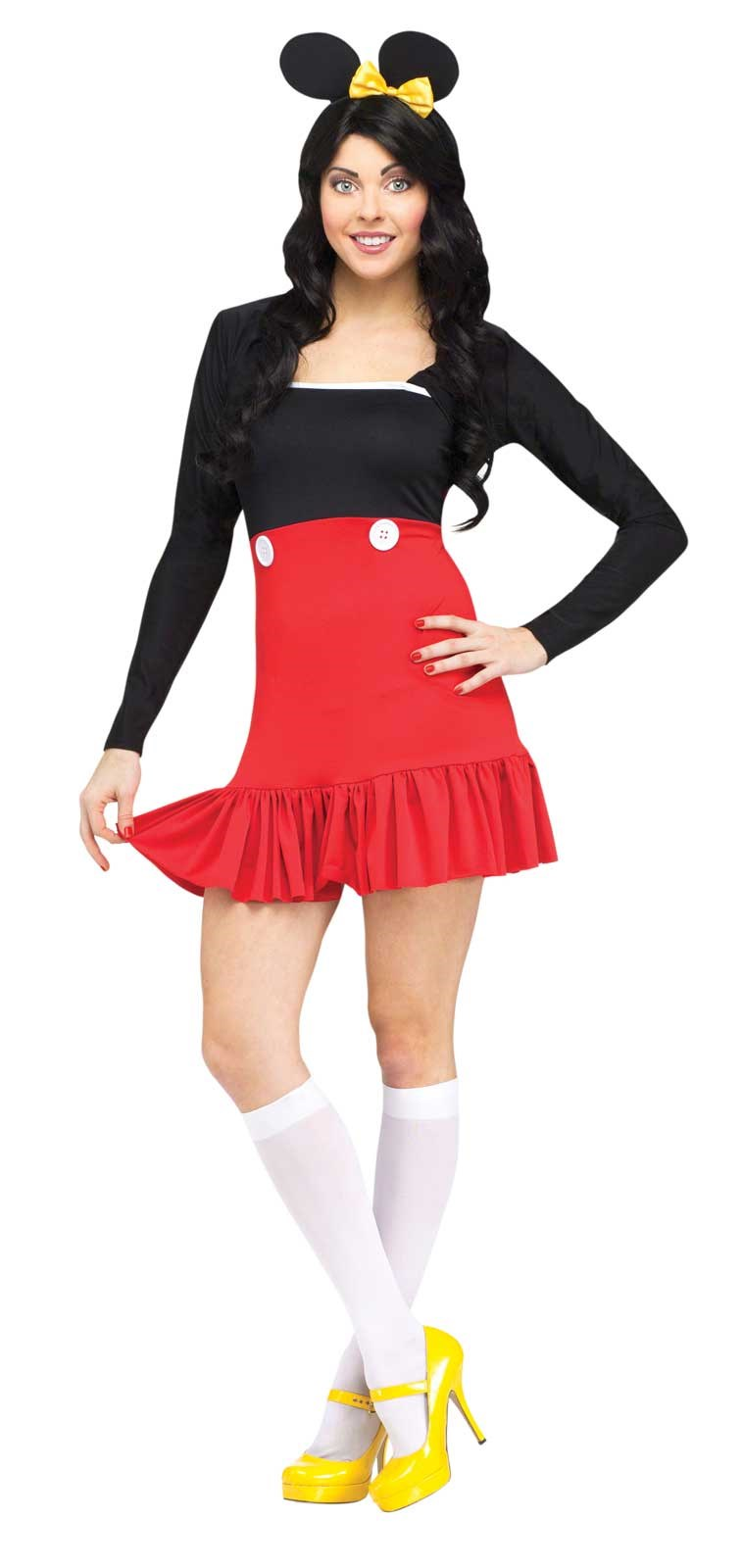 Miss Mikki Mouse - Womens Dress Costume