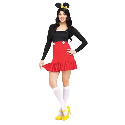 Miss Mikki Mouse - Womens Dress Costume