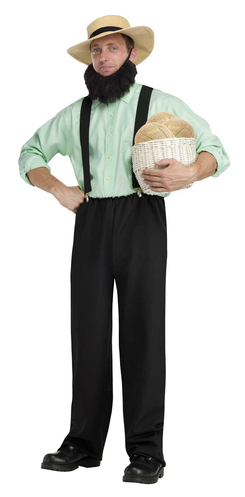 Image of Black Adult Amish Costume