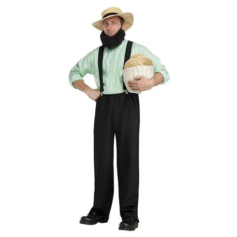 Black Adult Amish Costume