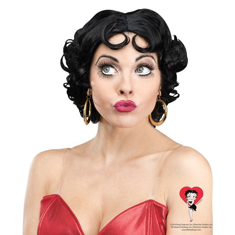 Betty Boop Womens Wig