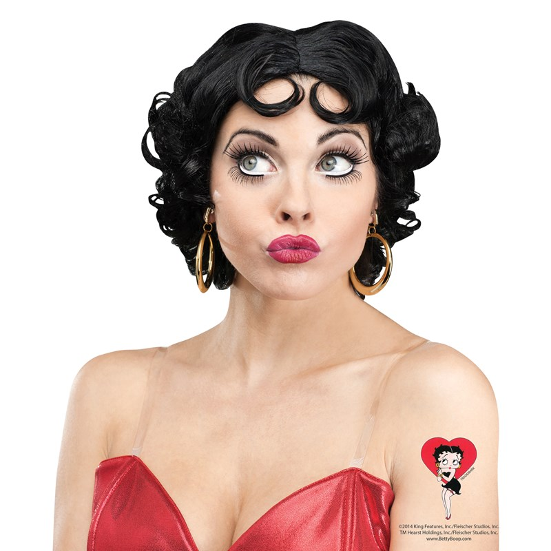 Betty Boop Womens Wig for the 2015 Costume season.