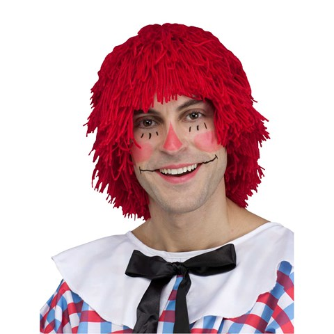 Raggedy Andy Mens Wig
