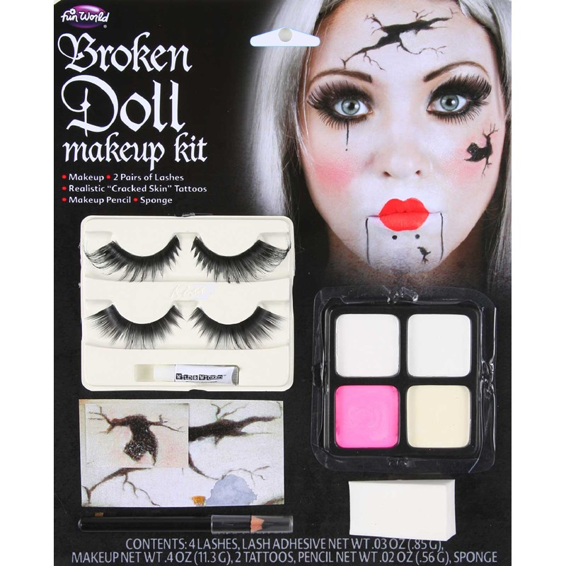 Broken Doll Accessory Makeup Kit for the 2015 Costume season.