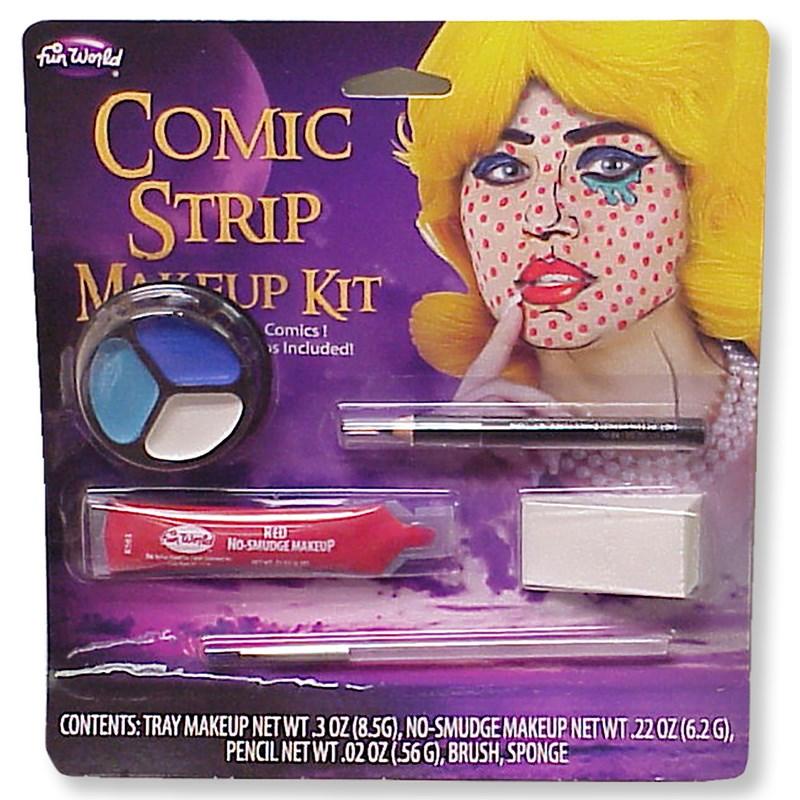 Comic Bookz Makeup Accessory Kit for the 2015 Costume season.