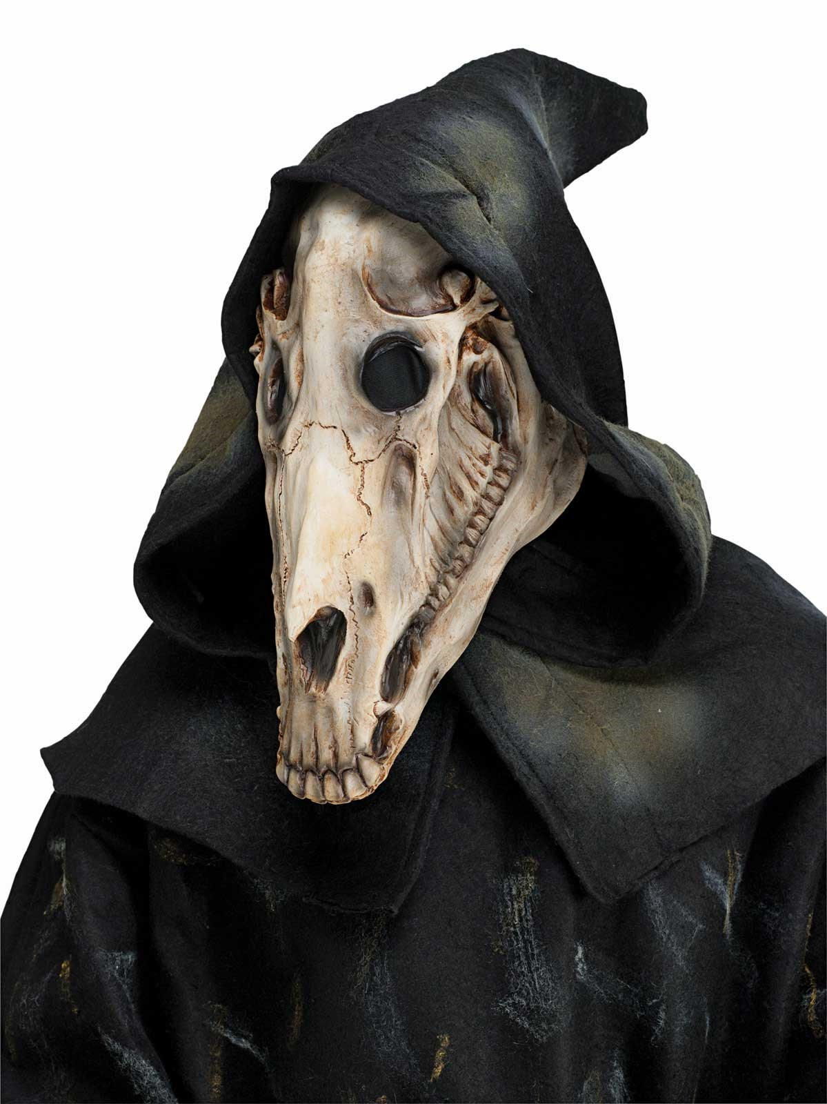 Horse Skull Adult Mask And Hood