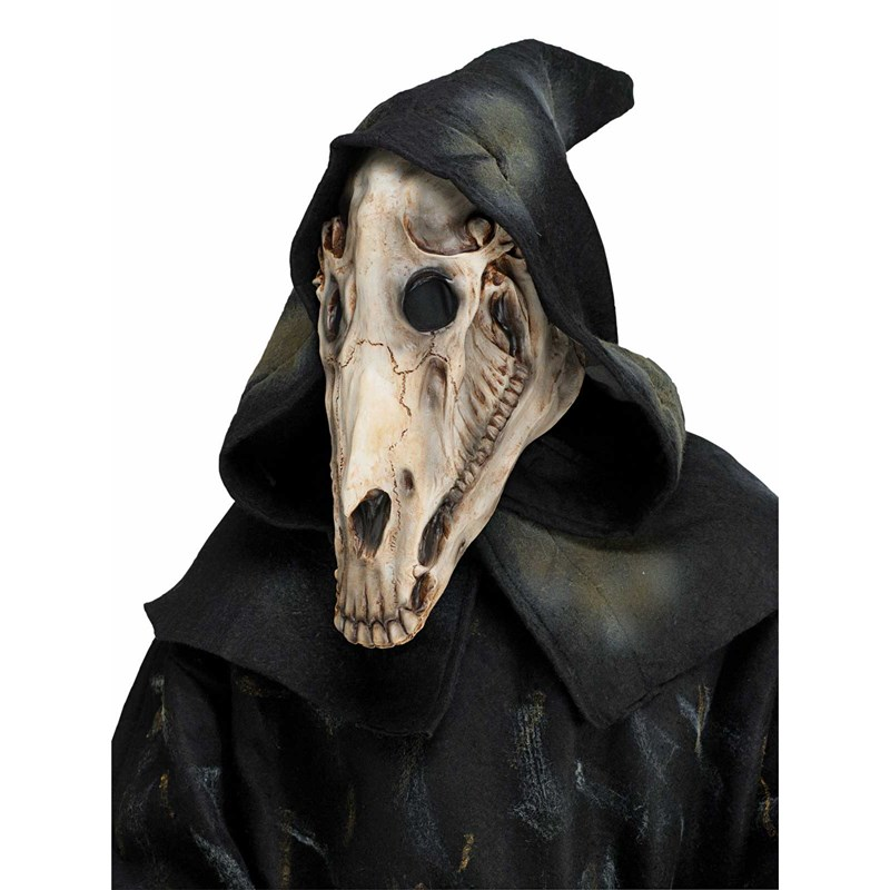 Horse Skull Adult Mask And Hood for the 2015 Costume season.