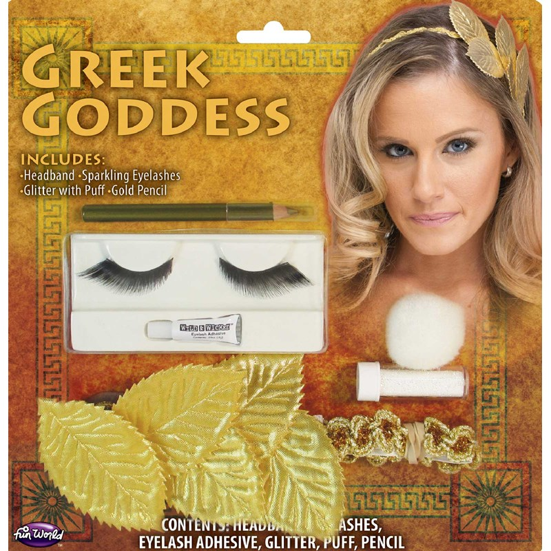 Greek Head Band And Makeup Kit for the 2015 Costume season.