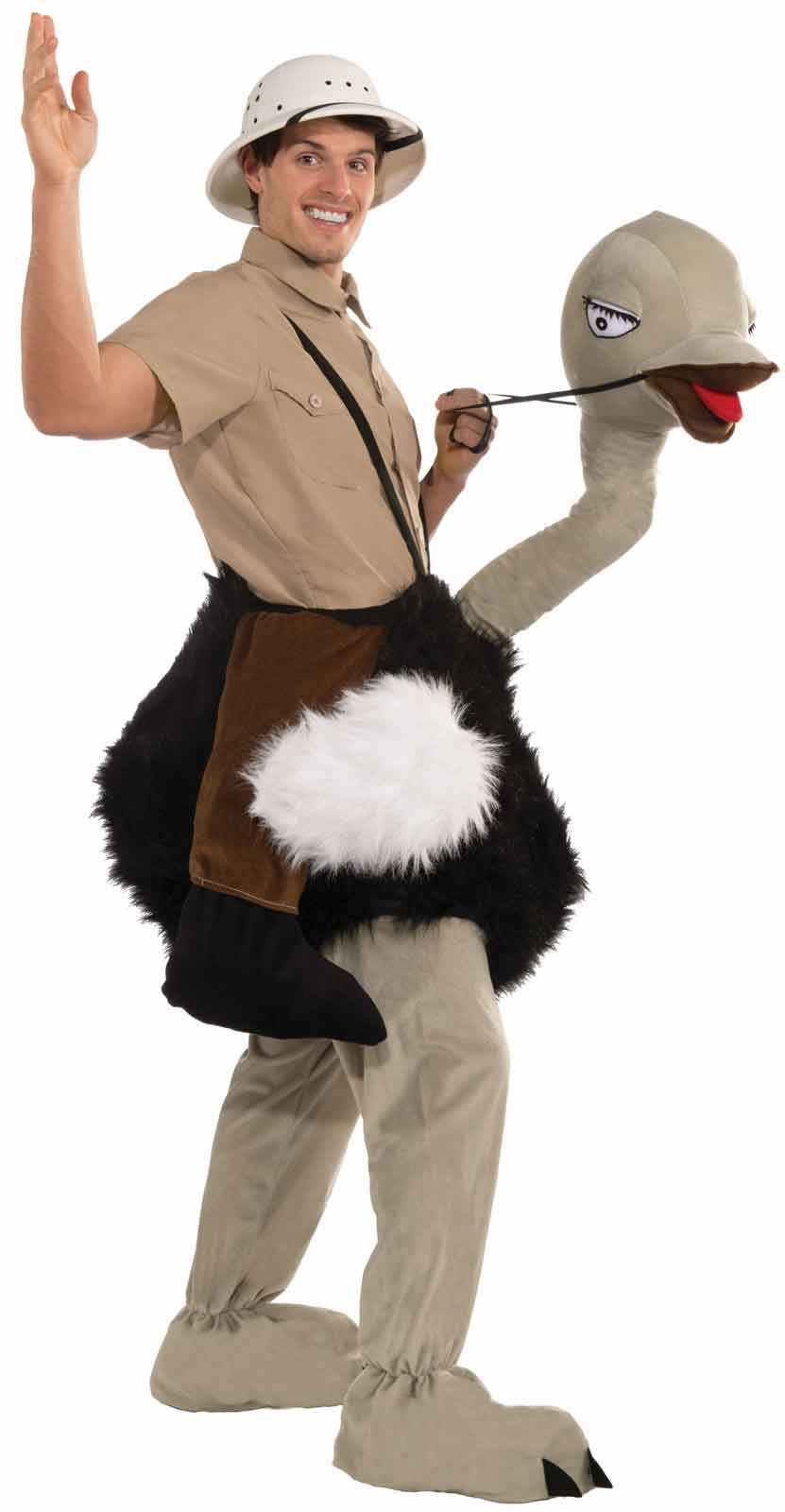 Ride On Ostrich Costume