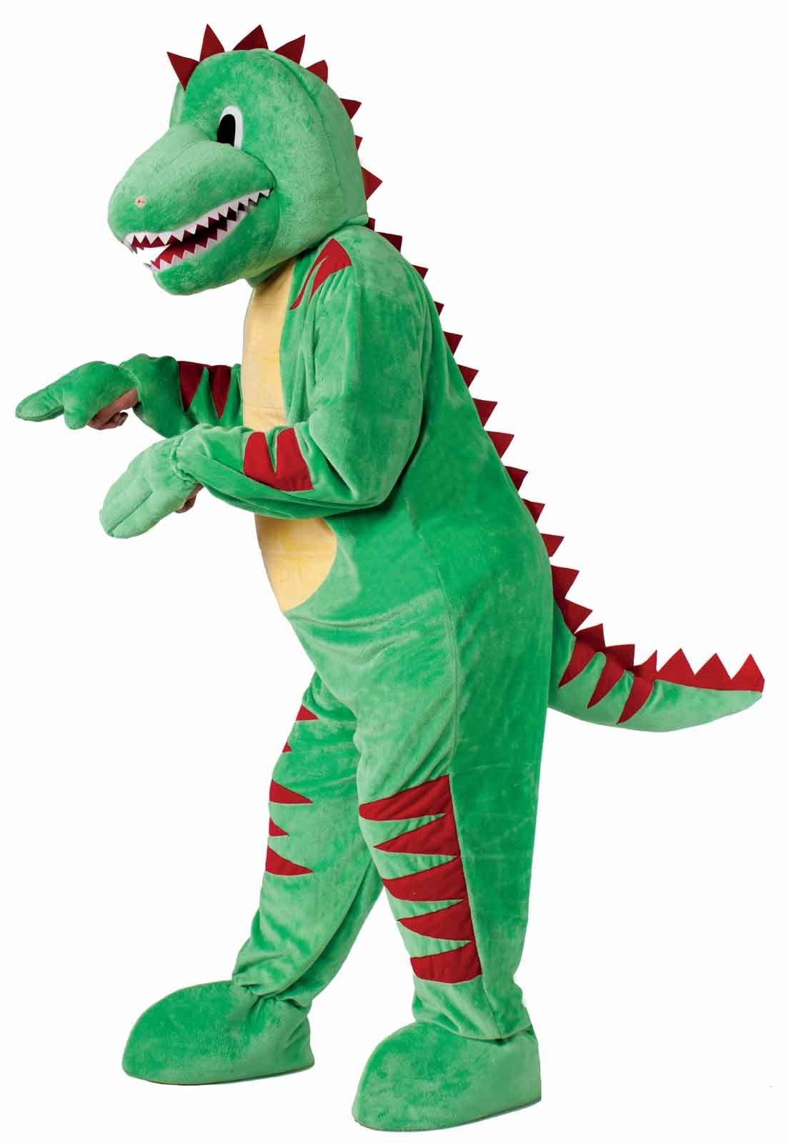 Image of Dinosaur Mascot Adult Costume