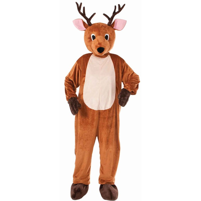 Reindeer Mascot Adult Costume for the 2015 Costume season.