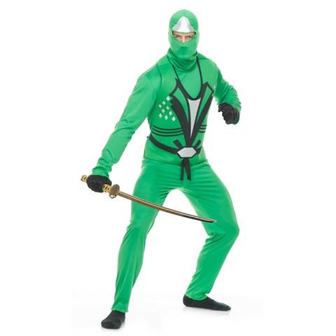 Green Ninja Avengers Series II Mens Costume