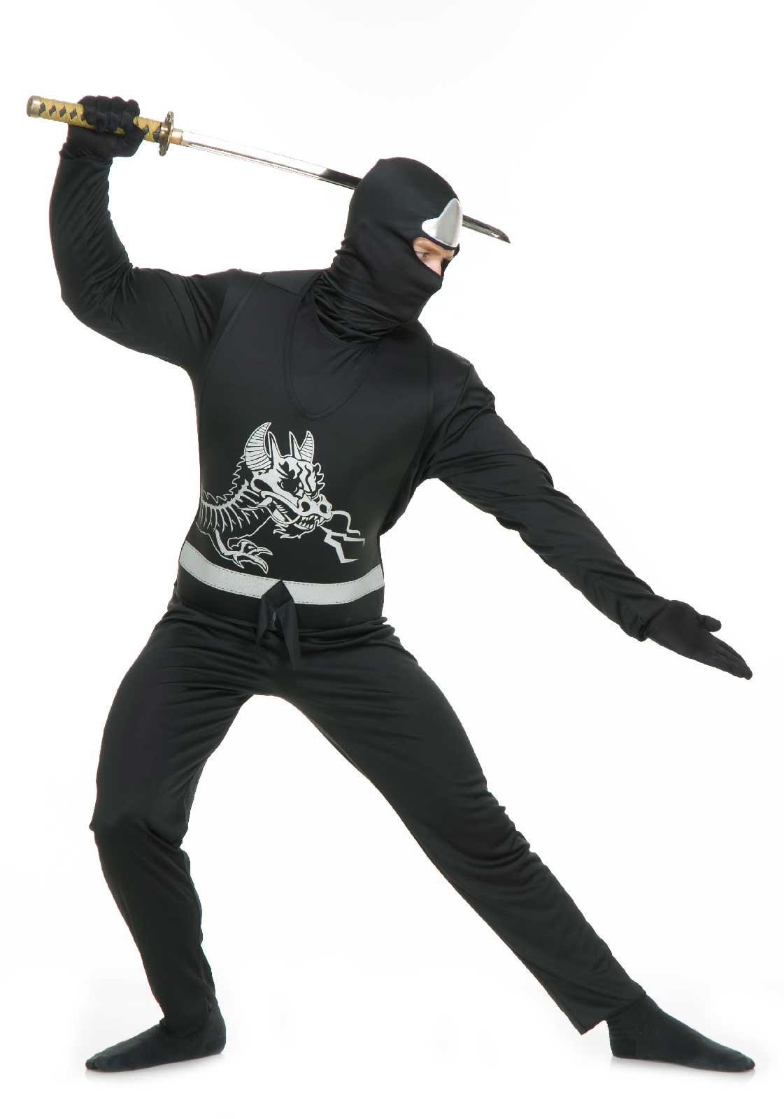 Image of Black Ninja Adult Avengers Series II Costume
